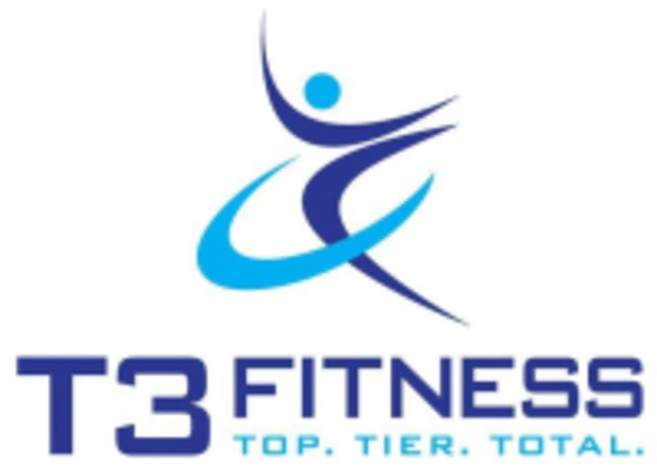 T3 Fitness  logo