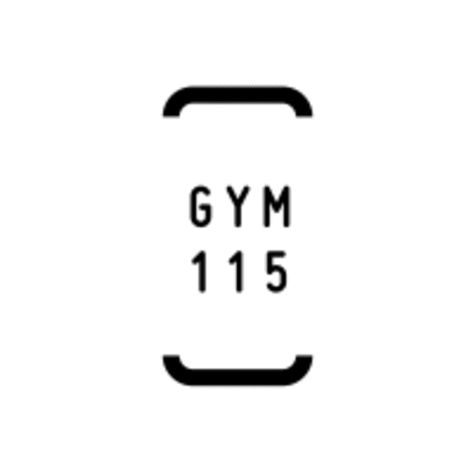 Gym 115 logo