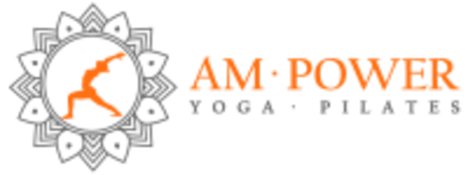 AM Power Yoga and Pilates logo