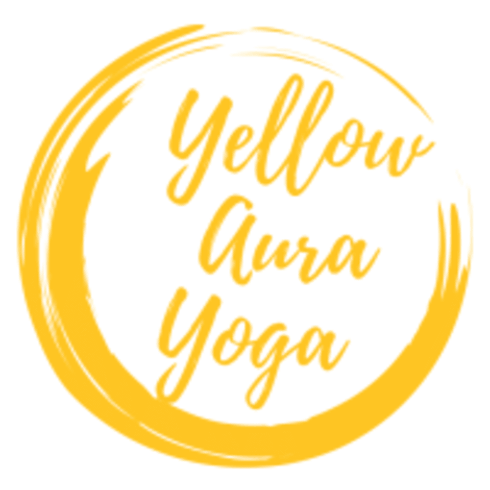 Yellow Aura Yoga logo