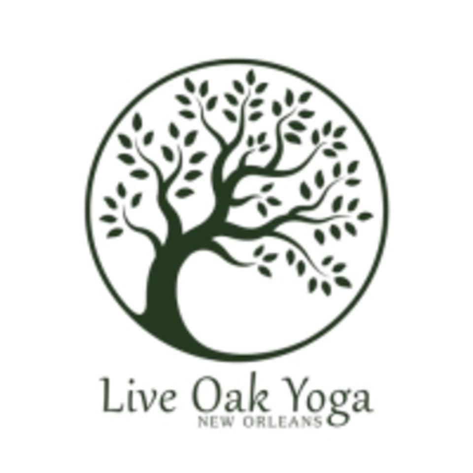Live Oak Yoga logo