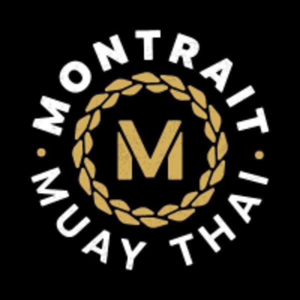 Montrait Muay Thai logo