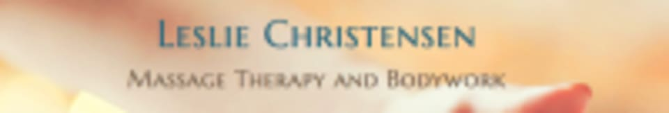 Leslie Christensen LMT Massage Therapy and Advanced Bodywork logo