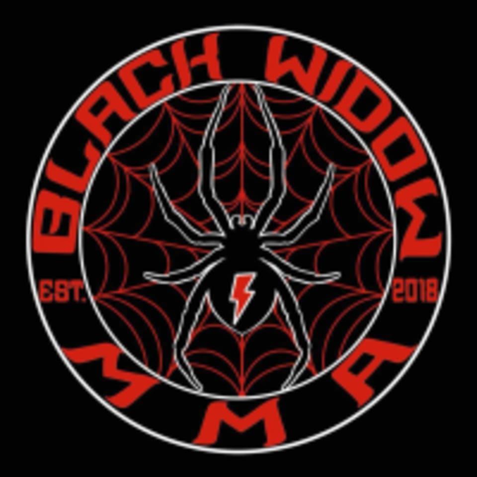 Black Widow MMA logo