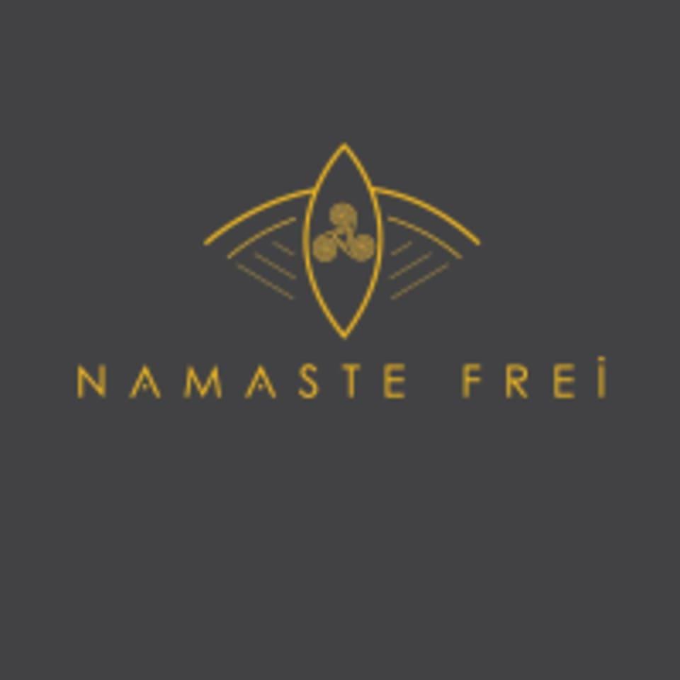 Namaste Frei logo