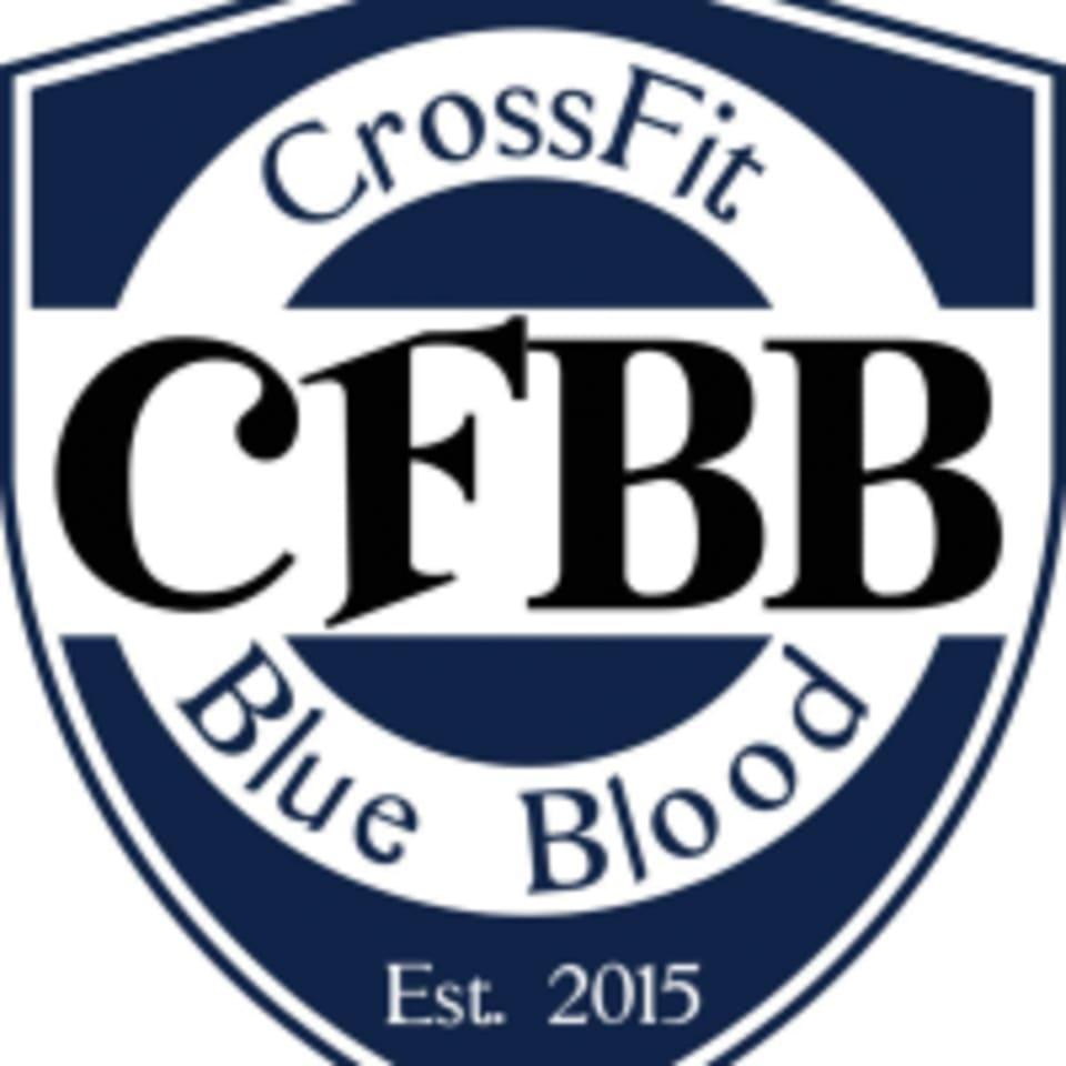 CrossFit Blue Blood logo