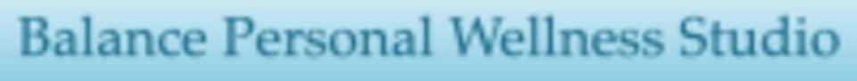 Balance Personal Wellness Studio logo