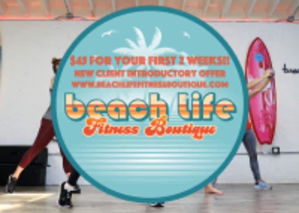 Beach Life Fitness Boutique logo