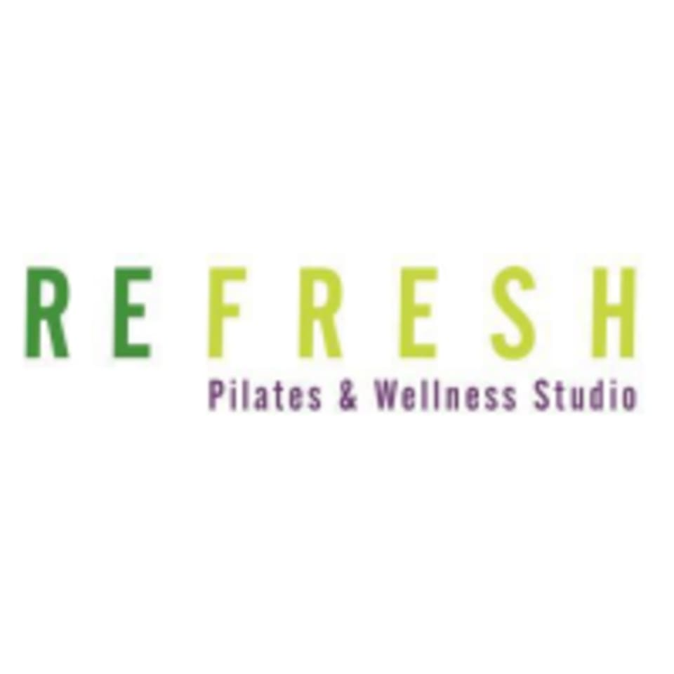 Refresh Pilates and Wellness Studio logo