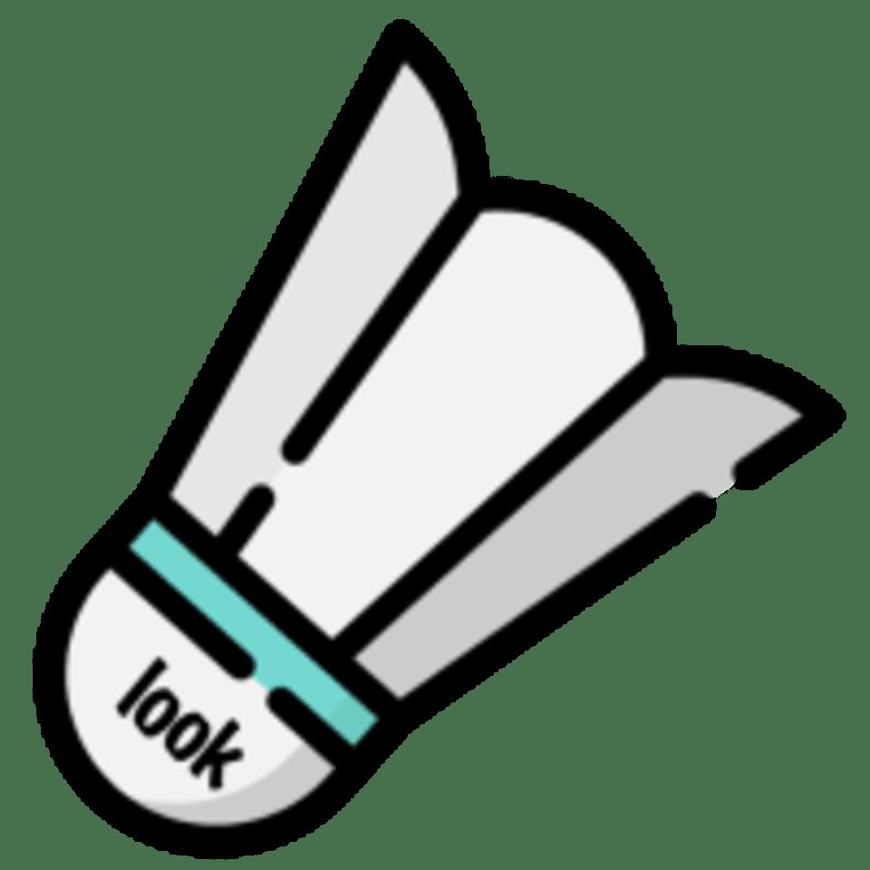 Look Badminton logo
