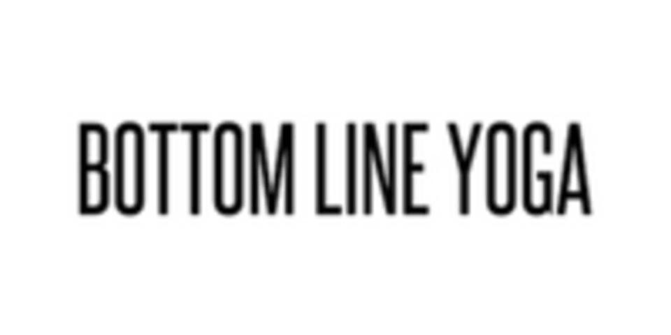 Bottom Line Yoga logo