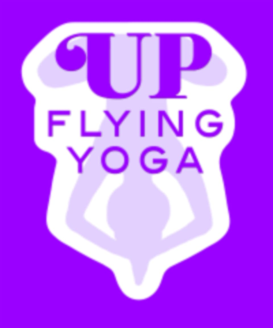 Up Flying Yoga logo