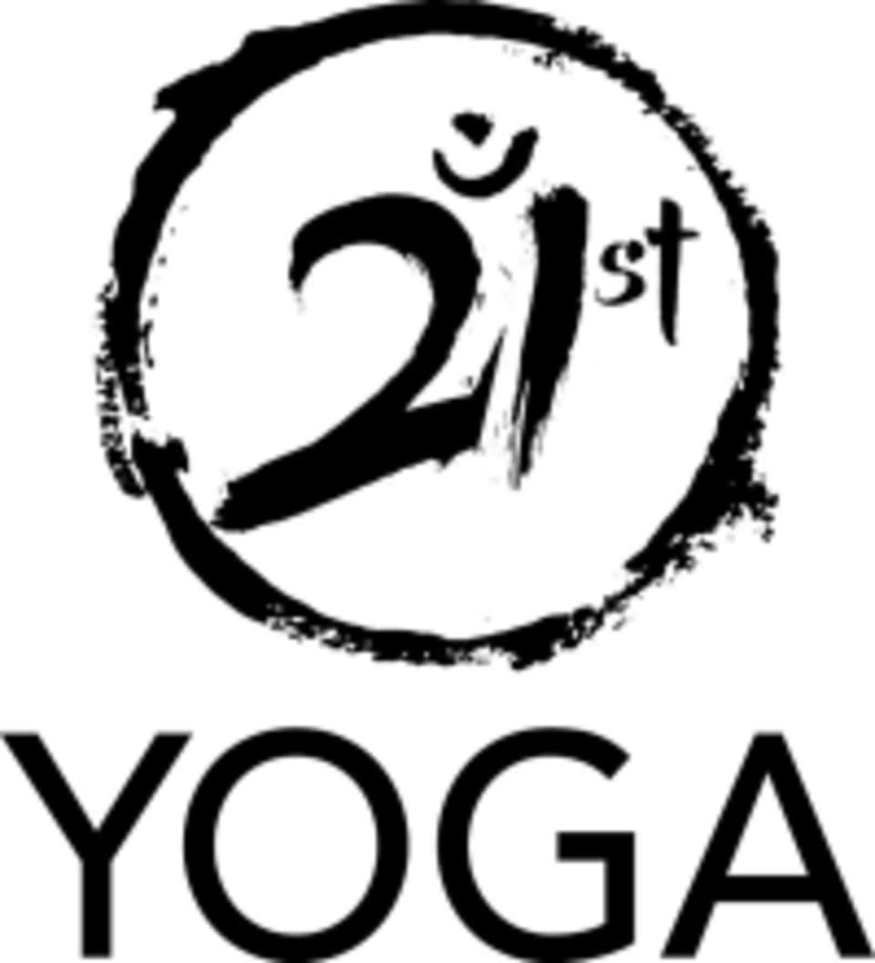 21st Yoga logo
