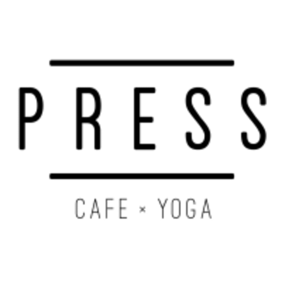 Press Cafe x Yoga logo