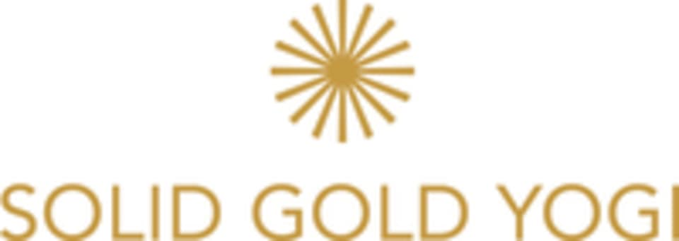 SOLID GOLD YOGI logo