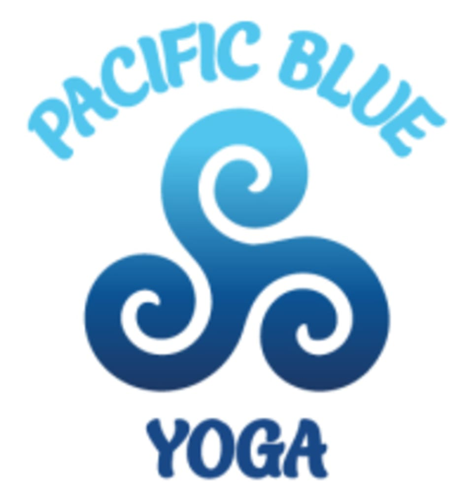Pacific Blue Yoga logo