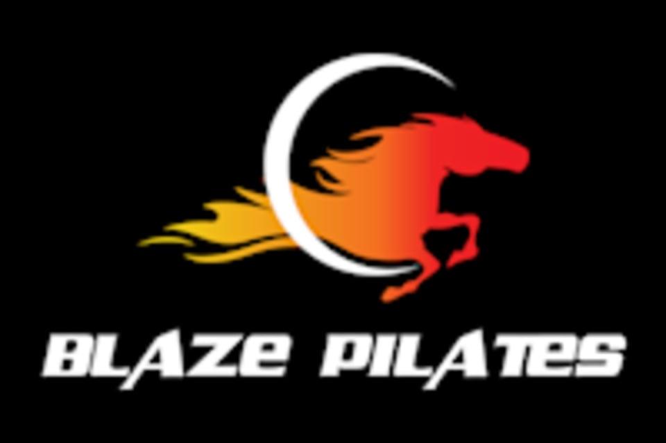 BLAZE PILATES logo