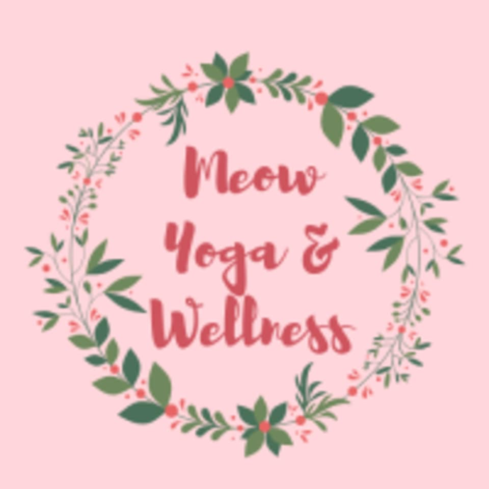 Meow Yoga & Wellness logo