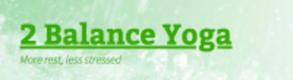 2 BALANCE YOGA logo