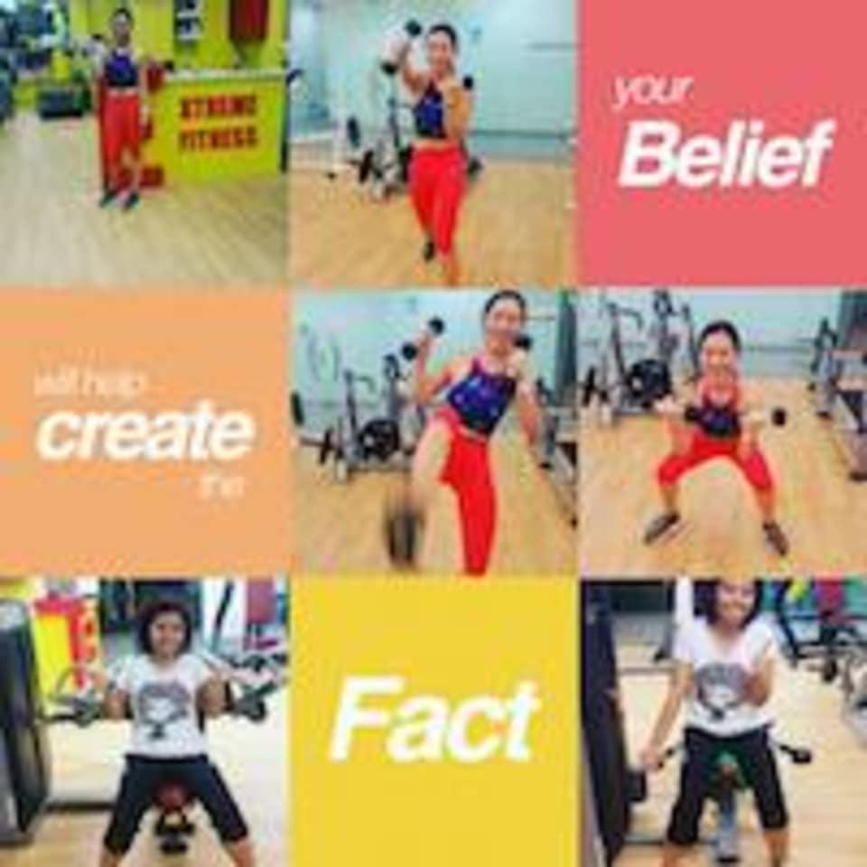 Extreme Fitness logo