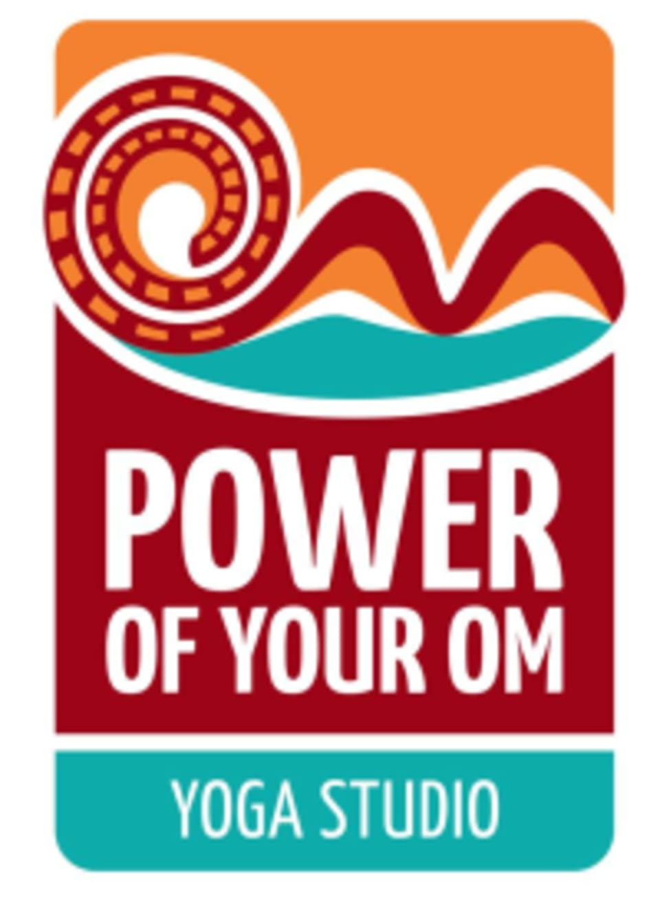 Power of Your Om Yoga Studio logo