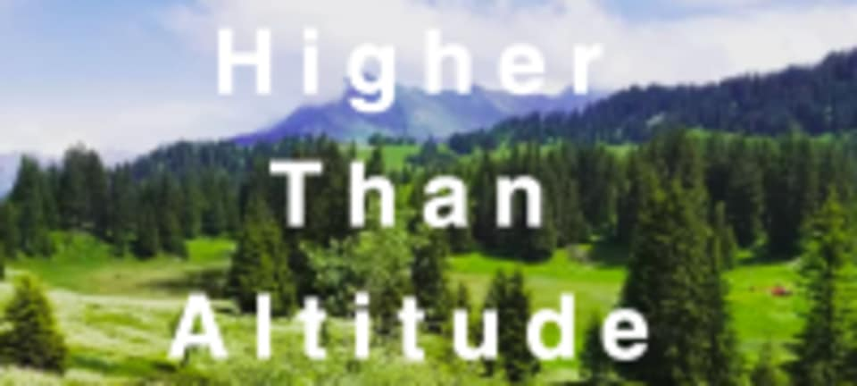 Higher Than Altitude logo