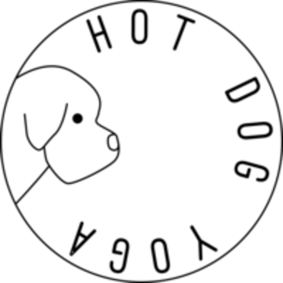 Hot Dog Yoga logo