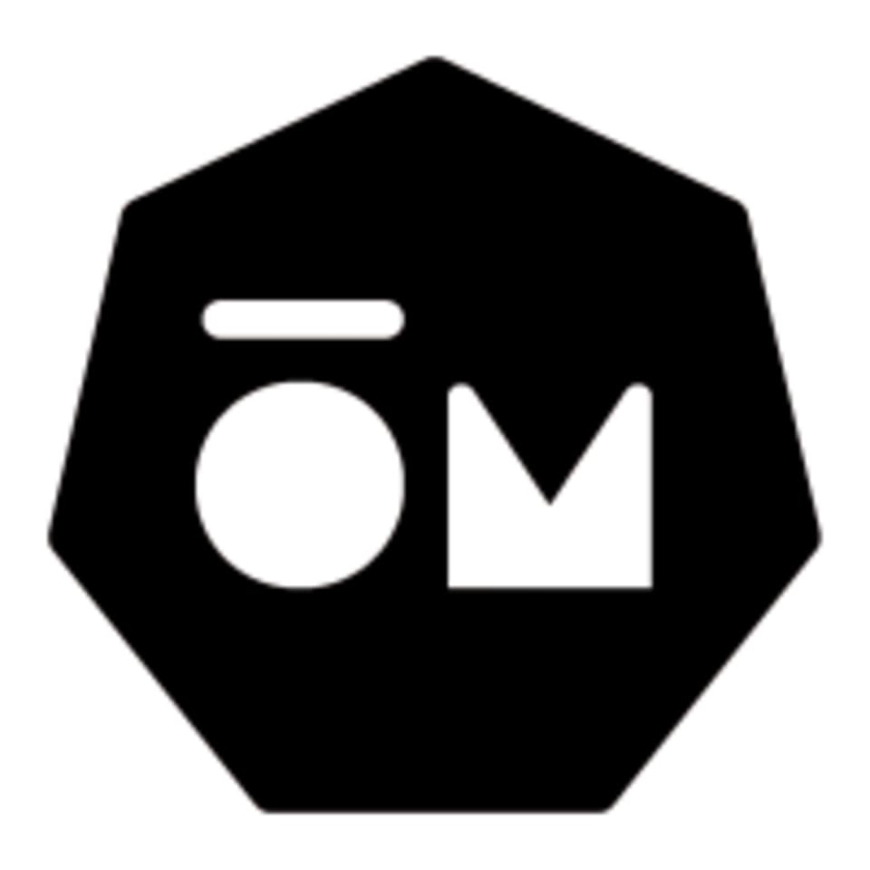 Modern ŌM logo