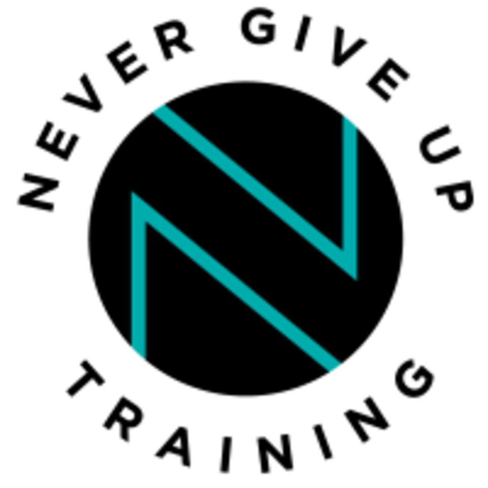Never Give Up Training logo