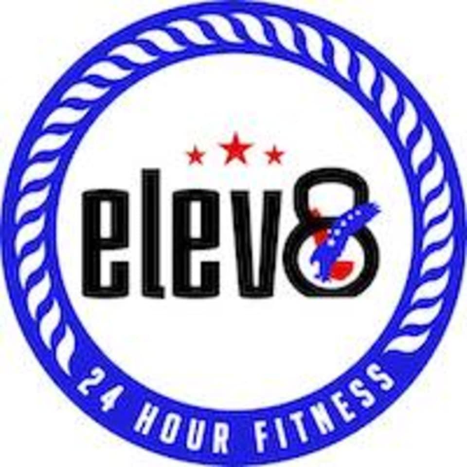 Elev8 24 Hour Fitness logo