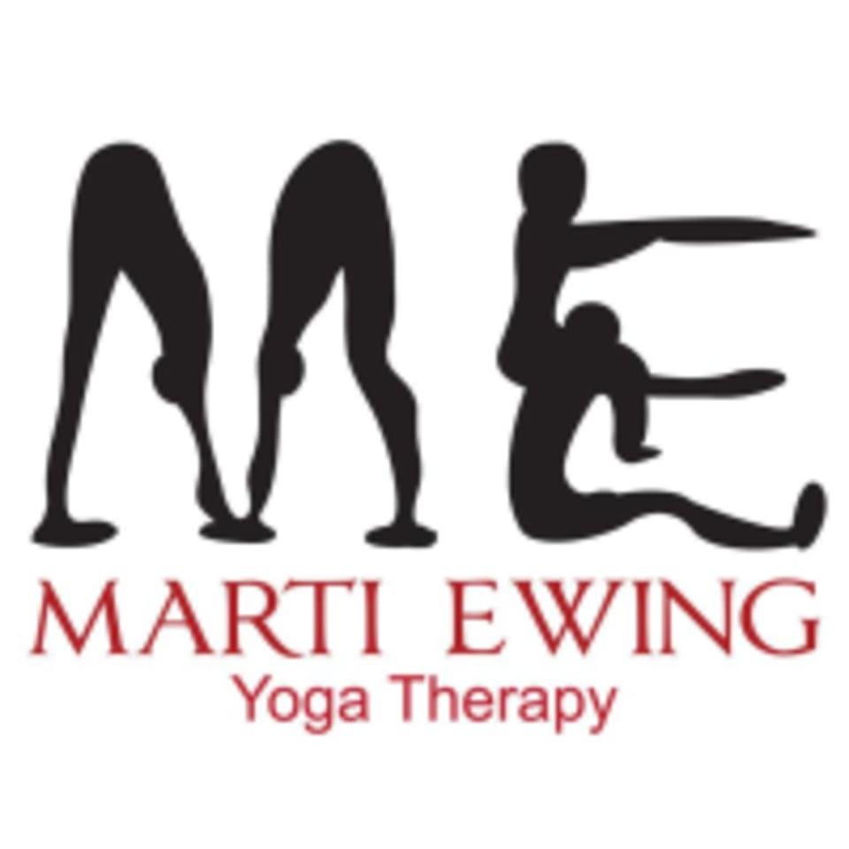 Marti Ewing Yoga Therapy and Meditation logo
