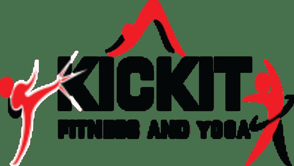 KickIt Fitness and Yoga logo