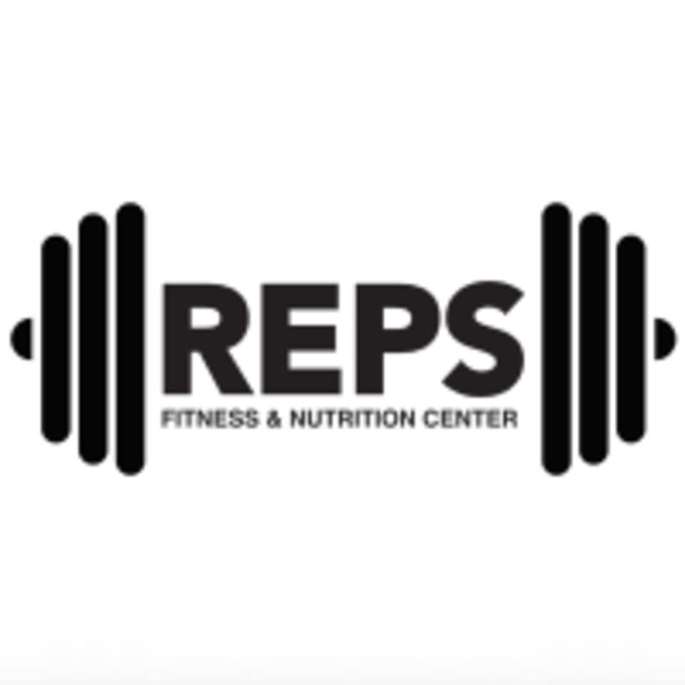 Reps Fitness and Nutrition Center logo