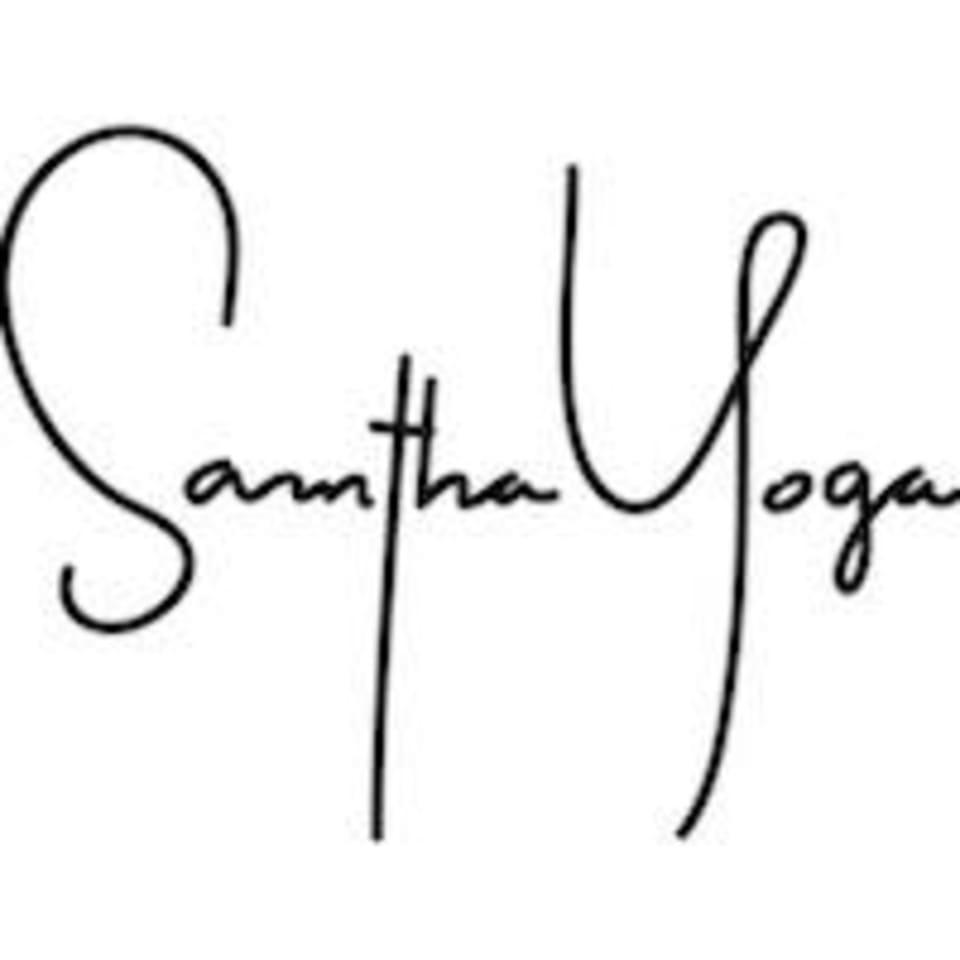 Samantha Yoga logo