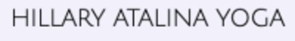 Hillary Atalina Yoga logo