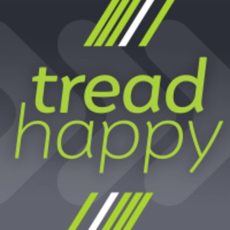 tread HAPPY logo