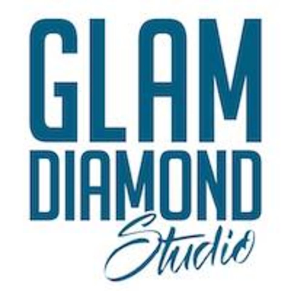 Glam Diamond Studio logo