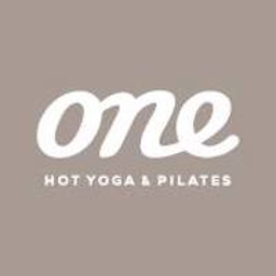 One Hot Yoga & Pilates logo