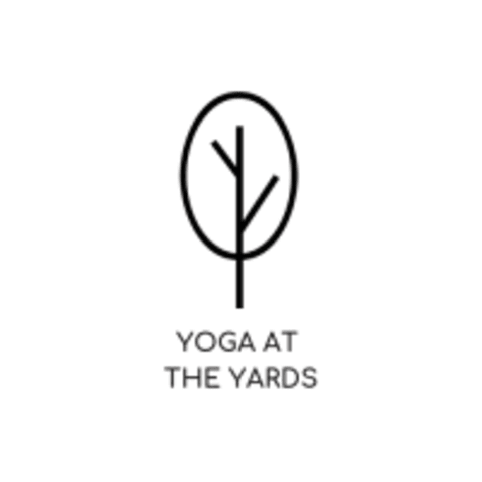 Yoga at The Yards  logo