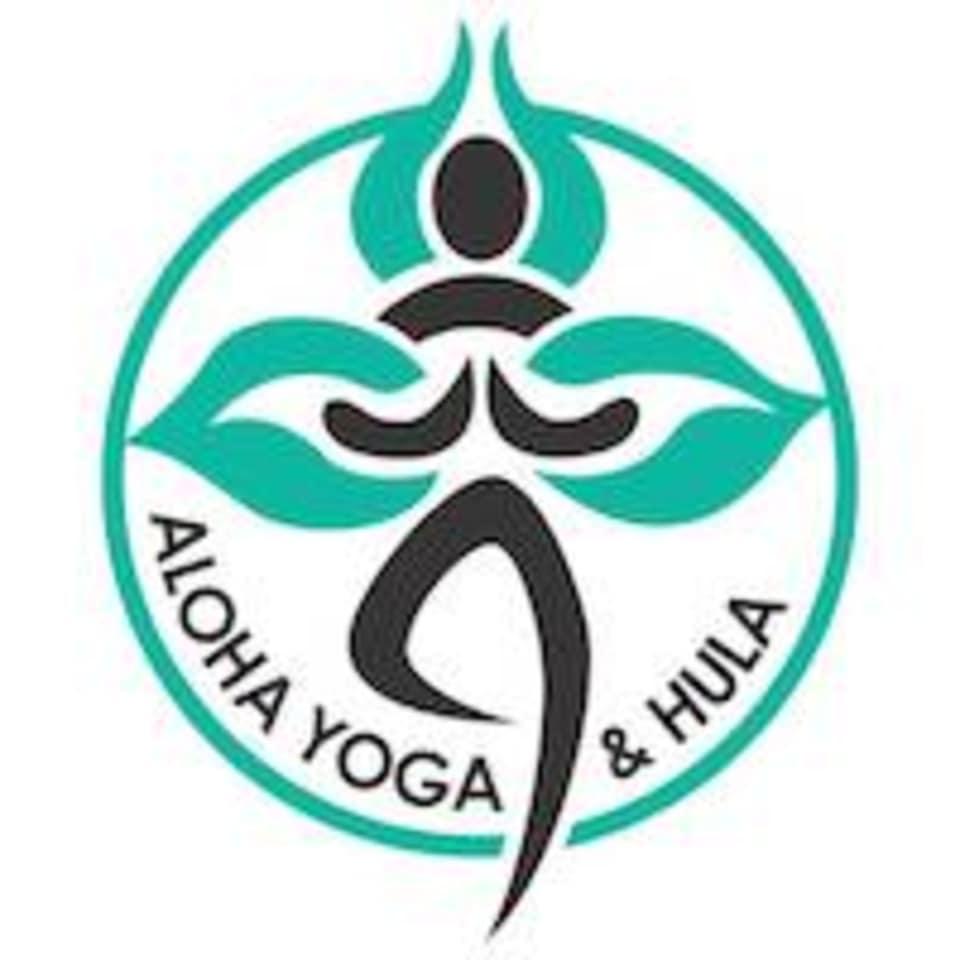 Aloha Yoga and Hula logo