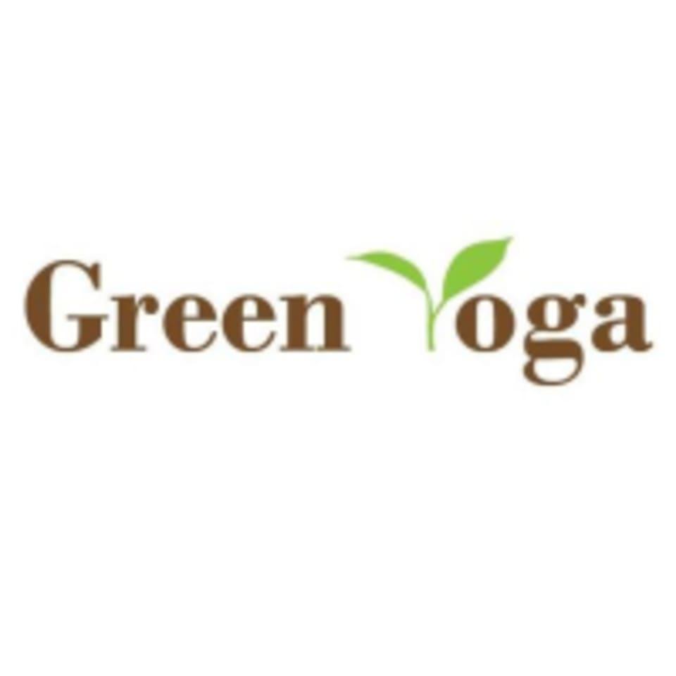 Green Yoga logo
