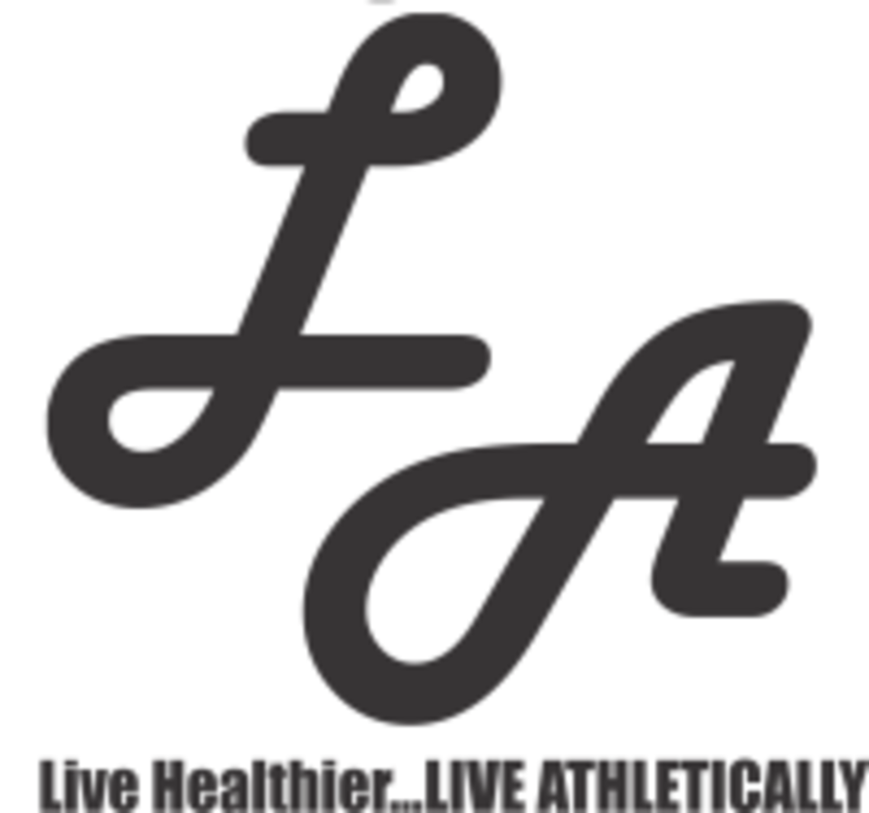 Live Athletically logo