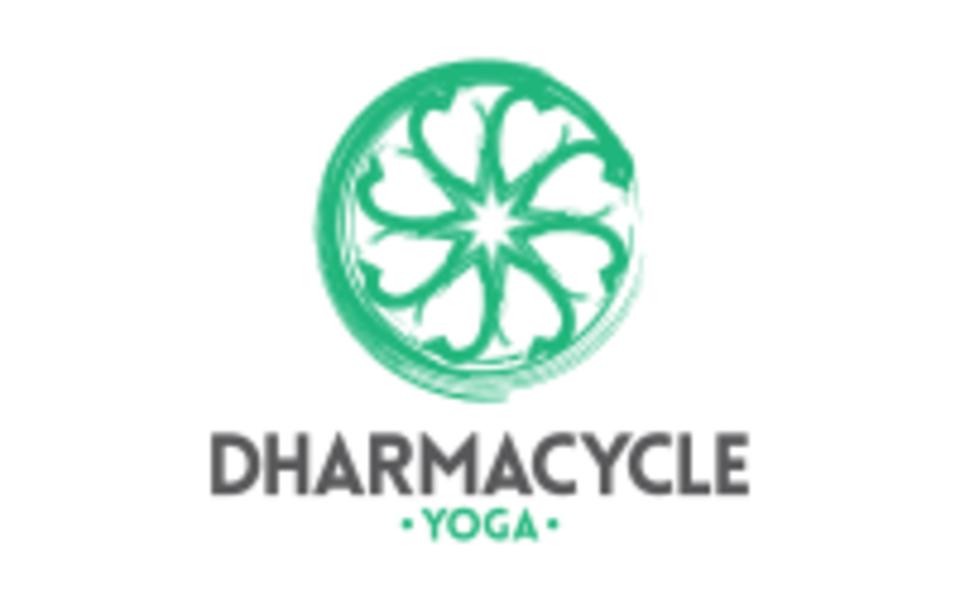 DharmaCycle Yoga logo
