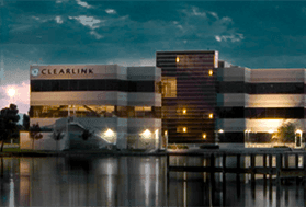 Clearlink office building near water