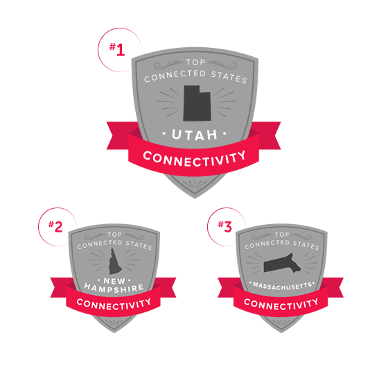 illustrated badges showing top 3 states