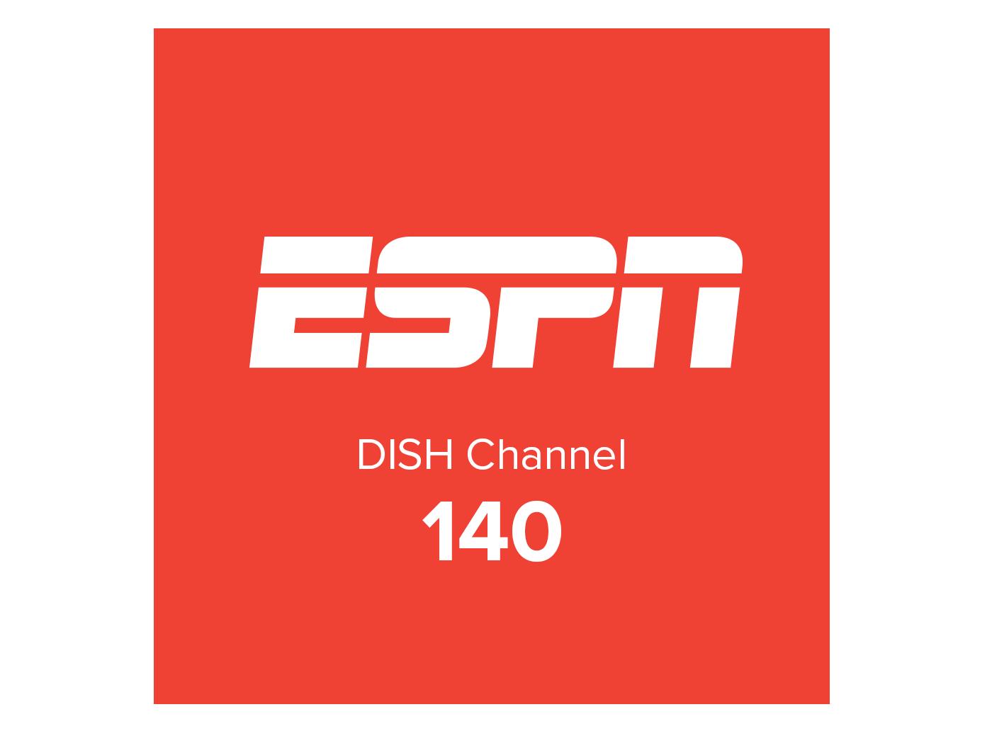 ESPN logo channel 140
