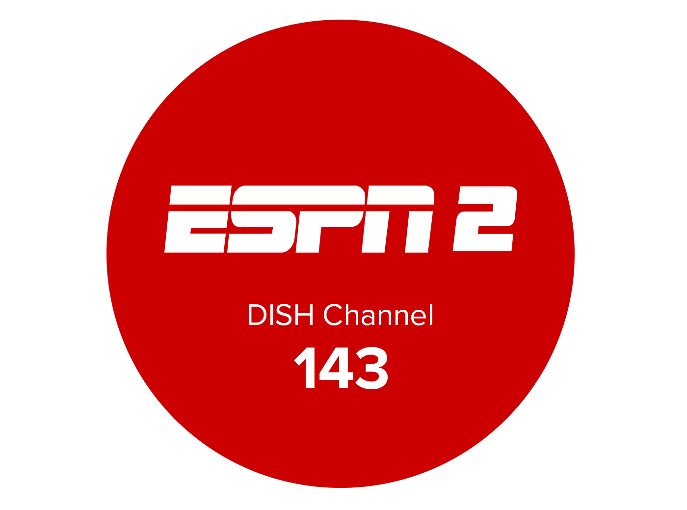 ESPN2 logo channel 143