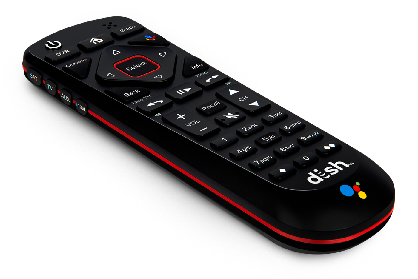 DISH voice remote