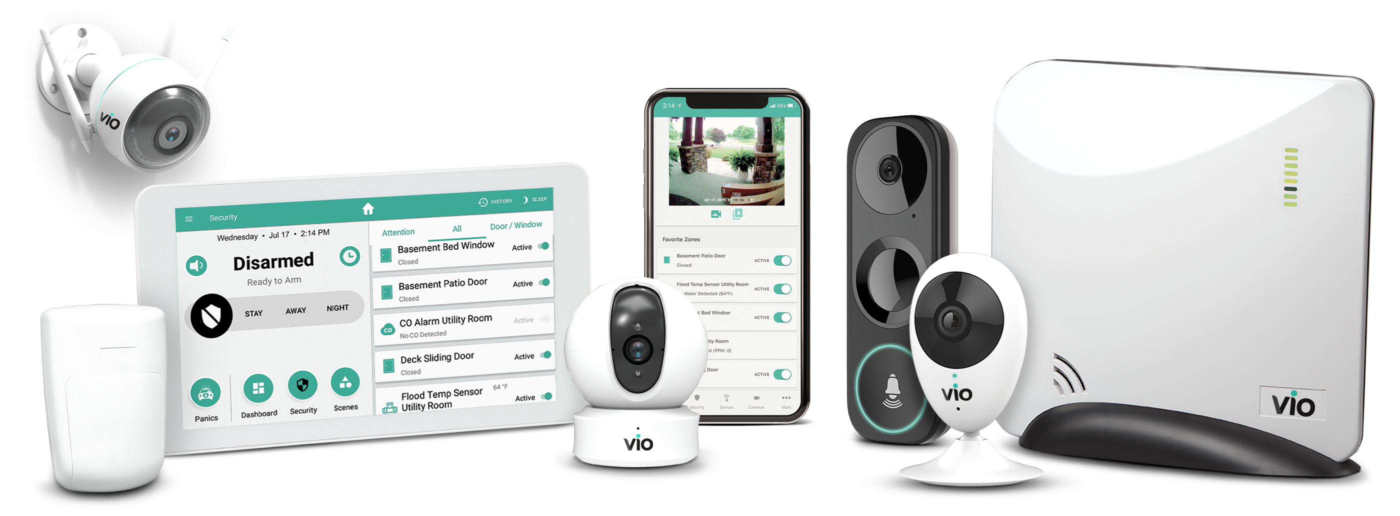 Vio Security equipment