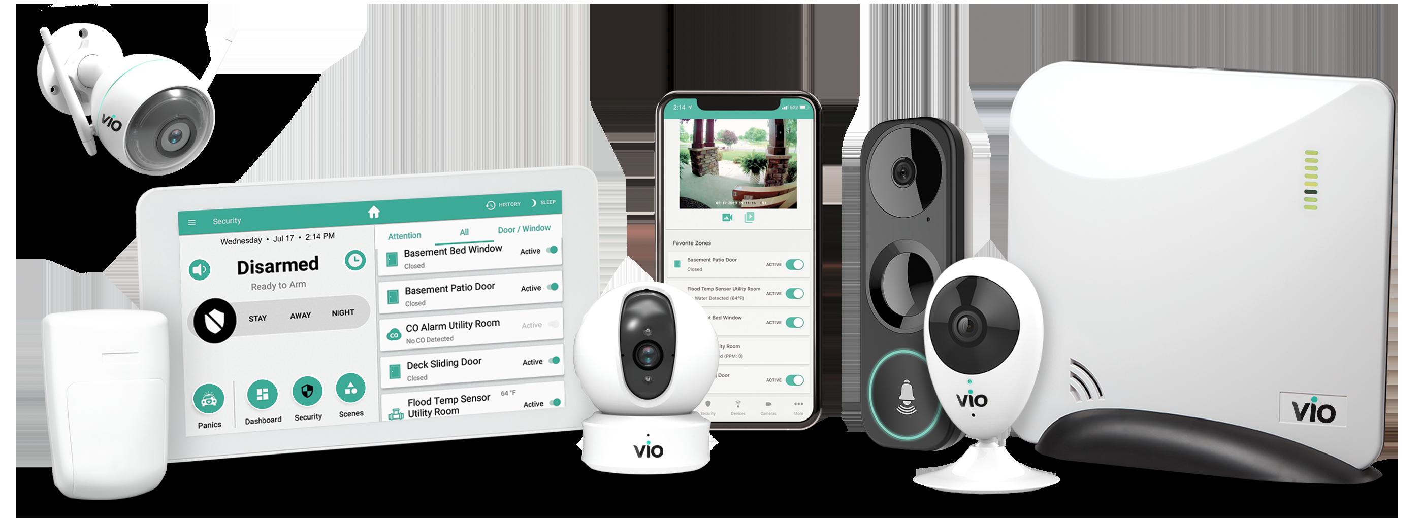 Vio Security equipment